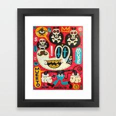 Muerto Mouse 2! Framed Art Print