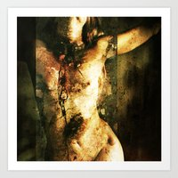 All Things Broken Are 11 Art Print