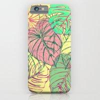 Jungle Leaves iPhone 6 Slim Case