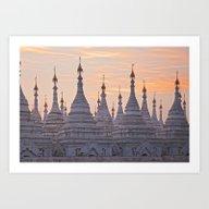 Sandamani Pagoda, Mandal… Art Print