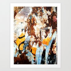 Vestiges Art Print