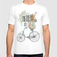 Pleasant Balance Mens Fitted Tee White SMALL