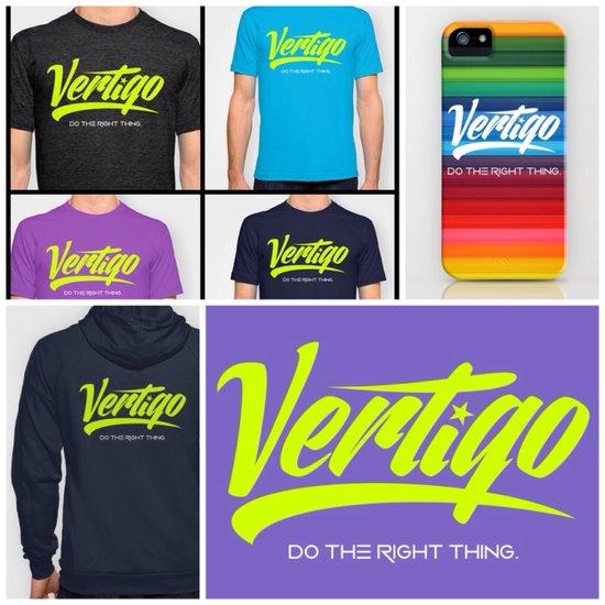 VERTIGO - LIME VERSION Art Print