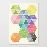 Fragmented Canvas Print