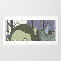 Trollfather Art Print