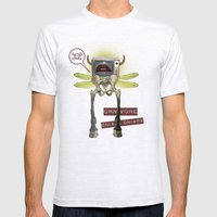 Omnivore Mens Fitted Tee Ash Grey SMALL