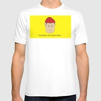 Klaus Daimler. Calm, Col… Mens Fitted Tee White SMALL