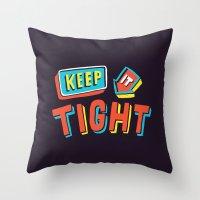 TIGHT Throw Pillow