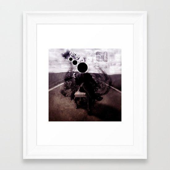 Nightspore Framed Art Print