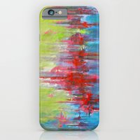 iPhone & iPod Case featuring A Day At The Beach/Sonia Dada by Jeannette Stutzman
