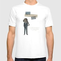 The Elephant Man Mens Fitted Tee White SMALL