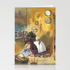 Winter granny's tale Stationery Cards