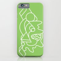 iPhone & iPod Case featuring Shape Study by Skip Dolphin Hursh
