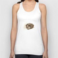 Little hedgehog Unisex Tank Top