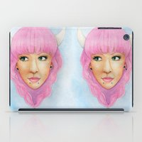 Bubblegum Queen iPad Case