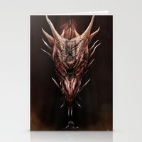 Smaug And The Thief Stationery Cards