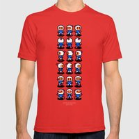 Bomberman Mens Fitted Tee Red SMALL