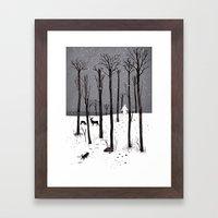Mister Yeti's Great Esca… Framed Art Print