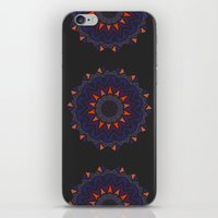 Halloween Skull Mandala iPhone & iPod Skin