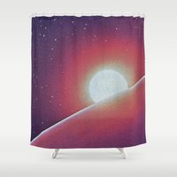 SPACE III Shower Curtain