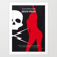 No018 My DeathProof Mini… Art Print