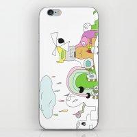 Funland 1 iPhone & iPod Skin