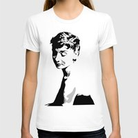 audrey hepburn T-shirts featuring Audrey Hepburn by Geryes