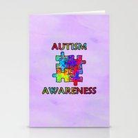 Autism Awareness Stationery Cards