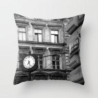 Prague 7:27 Throw Pillow