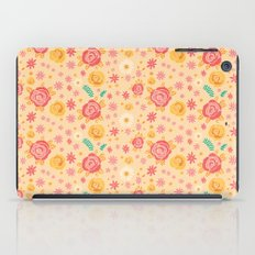 Peach Roses iPad Case