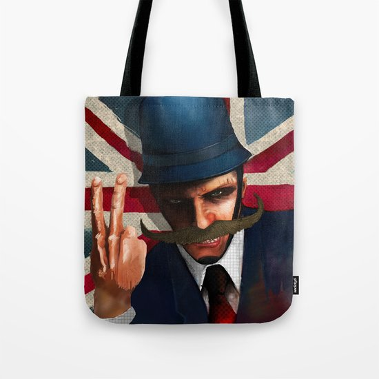 The bollocks Tote Bag