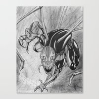 The Spider Man Canvas Print