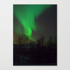 Northern Lights over Norway Canvas Print