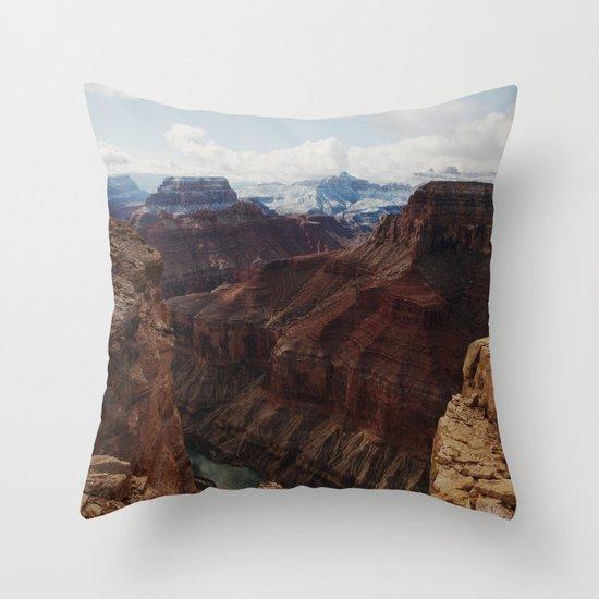 Marble Canyon Throw Pillow