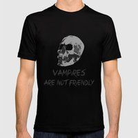Vampire Mens Fitted Tee Black SMALL
