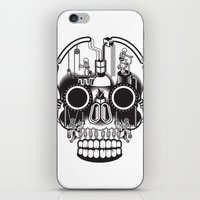 The daily grind iPhone & iPod Skin