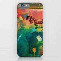 iPhone & iPod Case featuring Fly Each Day by Kim Moulder
