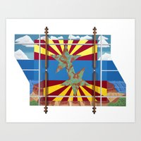 Altered State: AZ Art Print