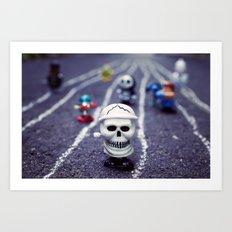 Death FTW Art Print