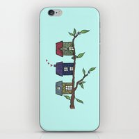Treehouses iPhone & iPod Skin