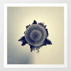 Blended Atmosphere Art Print