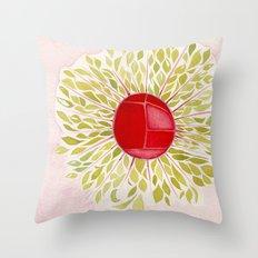 Each Leaf Throw Pillow