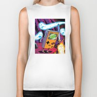 The Legend of Gameboy Biker Tank