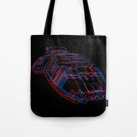 Classic Galactica 3D Tote Bag