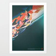 MICRO AGGRESSION (everyday 09.11.15) Art Print