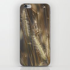 Blowing in the wind. iPhone & iPod Skin