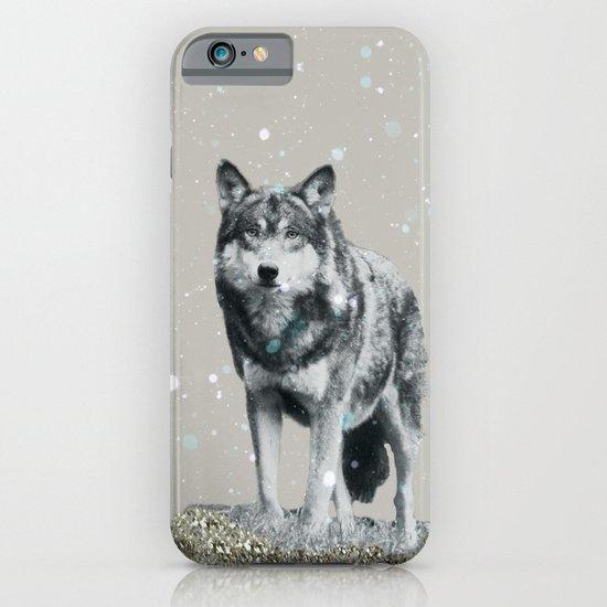SNOW WOLF iPhone & iPod Case