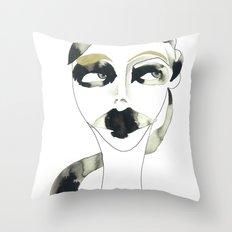 a bystander Throw Pillow