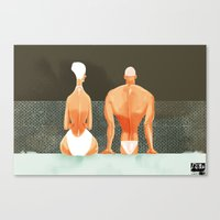 made for each other / no words Canvas Print