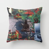 Dreaming of Winter Throw Pillow
